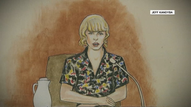 [NATL] Jury Sides With Pop Star Taylor Swift in Groping Lawsuit