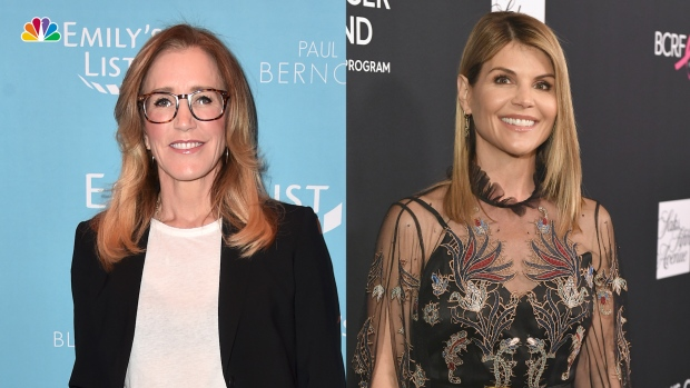 [NATL] Felicity Huffman, Lori Loughlin Among Those Indicted in College Entrance Scandal