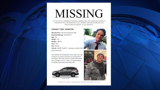 ME television meteorologist missing since Saturday