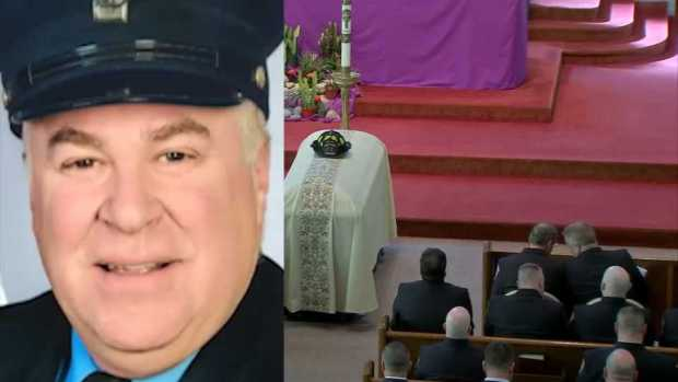 Fallen Watertown Fire Fighter Honored With Church Service, Procession