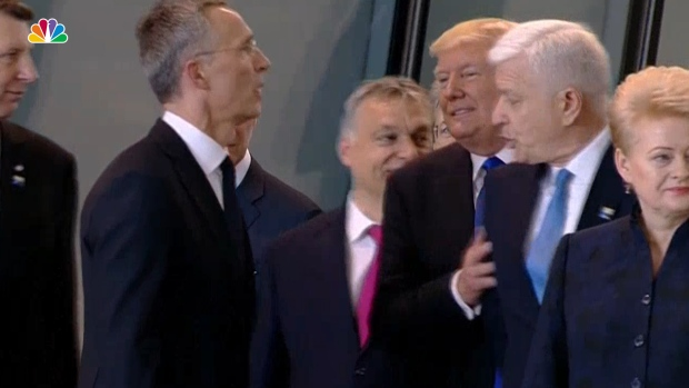 [NATL] Trump Pushes Aside a Prime Minister