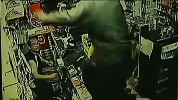 Store Owner Opens Fire on Robbers