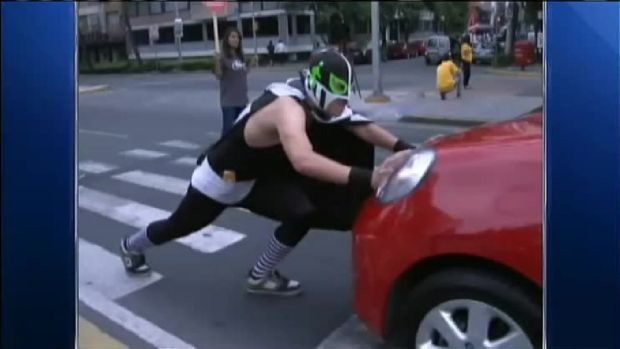 Unlikely Superhero is Patrolling the Streets