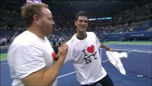 Tennis Tango With Novak Djokovic?