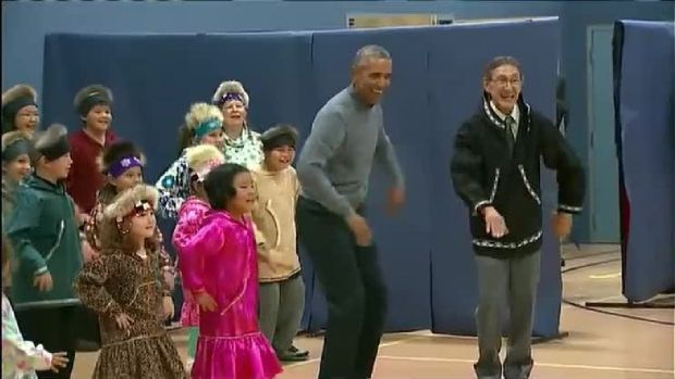Obama 'Cuts a Rug' on Final Day of Alaska Trip