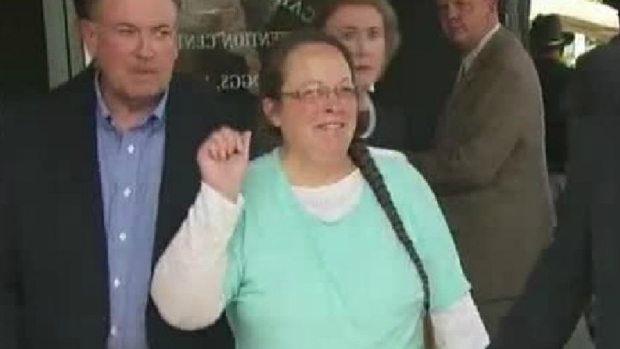 Kim Davis is Out of Jail