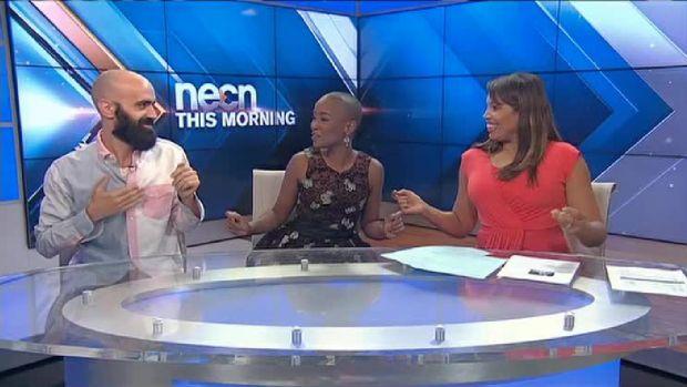 Necn's Latoyia Edwards Gets Funky!