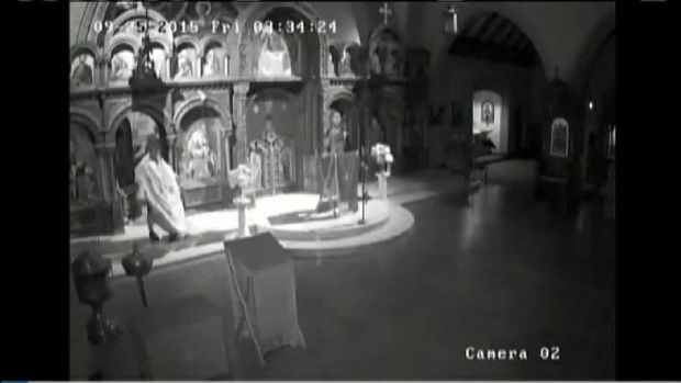 Man Breaks Into Church, Performs Sex Act on Altar