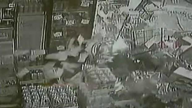 Car Crashes Into Liquor Store