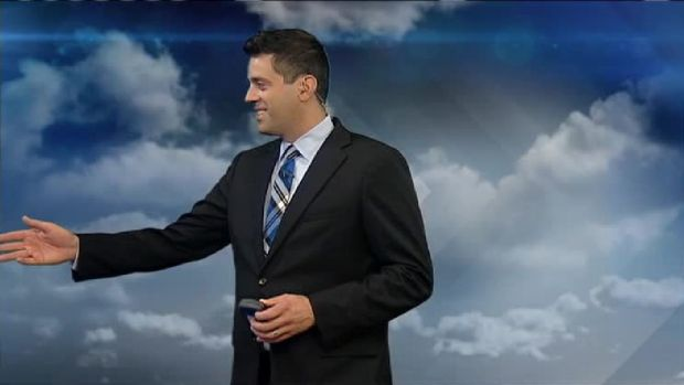 Brian, Latoyia Join Matt at Weather Wall