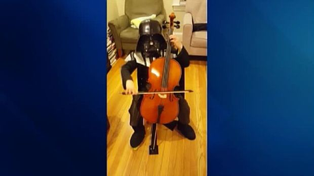 Boy Shows Off Music Skills, Love for 'Star Wars'
