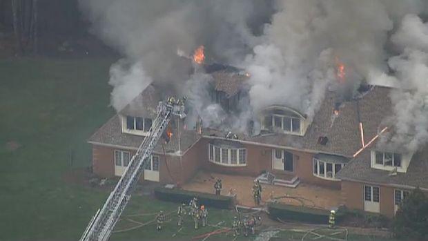 Bedford New Hampshire 3-Alarm Fire