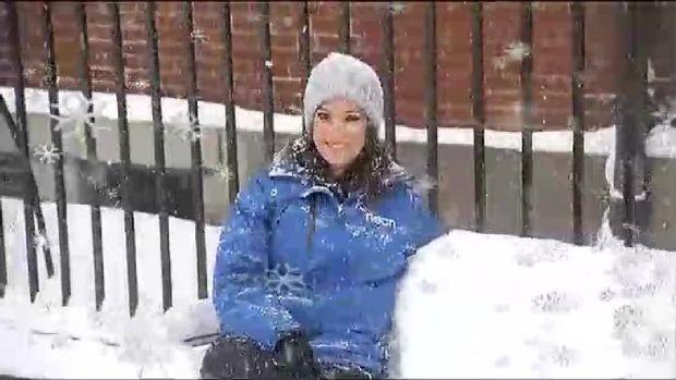 [NECN] Giant Snowflakes Hit New Hampshire
