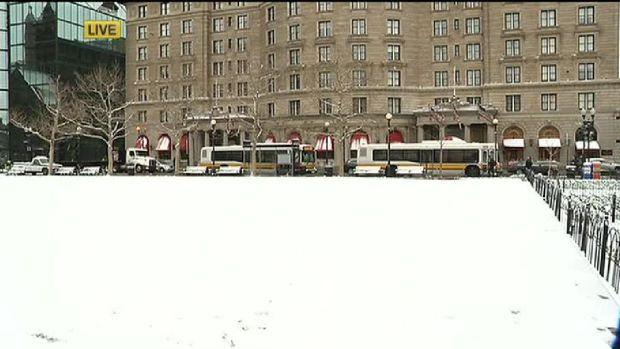 [NECN] Boston Mayor Marty Walsh: Snow Not as Bad as Anticipated