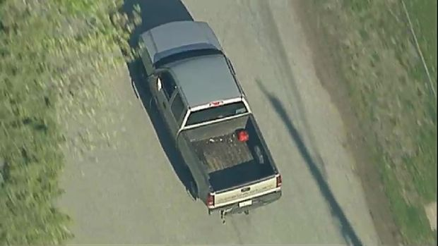 Police Chase Ends, Suspect Punched by Officers