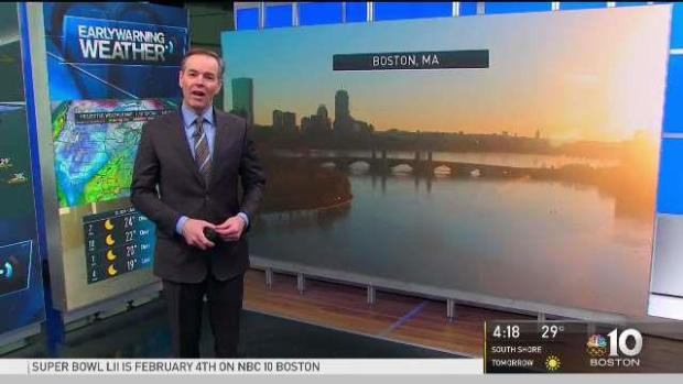 [NECN] Clear Air, Cold Skies for Tonight