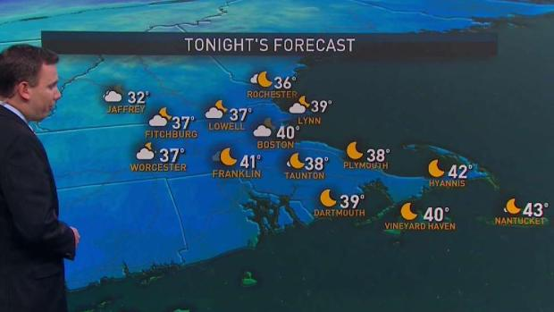 [NECN] Weekend Ends With Rain, Cool Temps