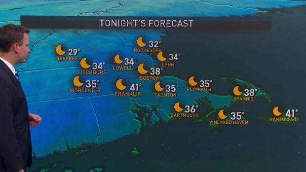 [NECN] Frost Possible for Some Sunday Night; Rainy Week Ahead