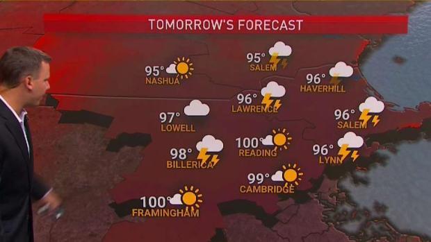 [NECN] Dangerous Heat Continues Sunday
