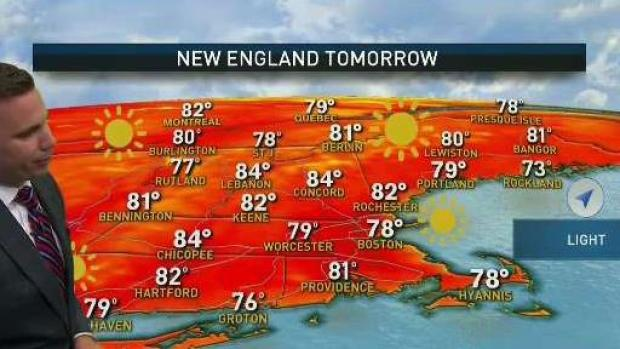 [NECN] Clear, Pleasant Week Ahead