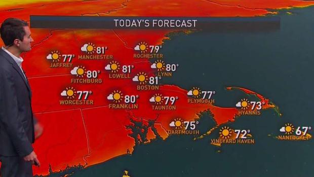 [NECN] Possibly Wet Father's Day After Sunny Start to Weekend