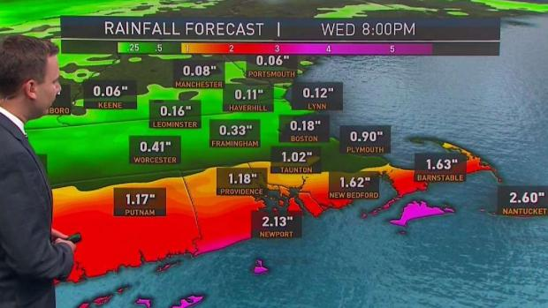 [NECN] Monday Will Likely Be Only Dry Day This Week