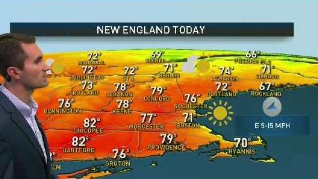 [NECN] New England Gets First Dry Weekend in Months
