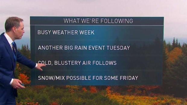 [NECN] Partly Sunny Monday Before Rain Moves in Tuesday