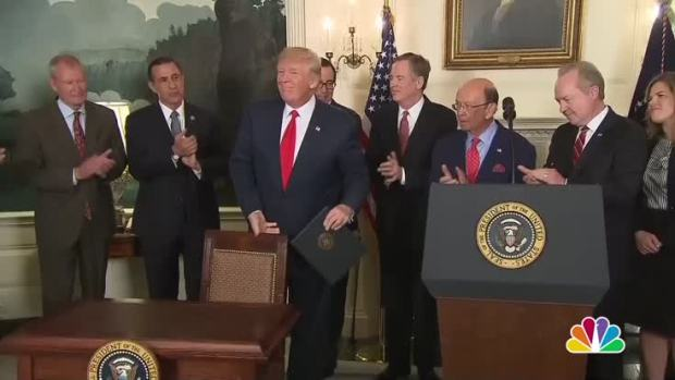 [NATL] Trump to Reporter: 'You're Fake News'