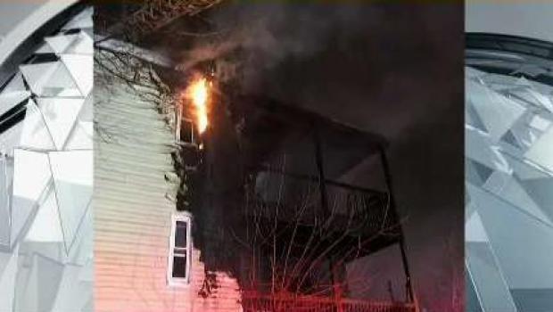 [NECN] 16 Displaced, 1 Hurt in Roxbury Apartment Fire