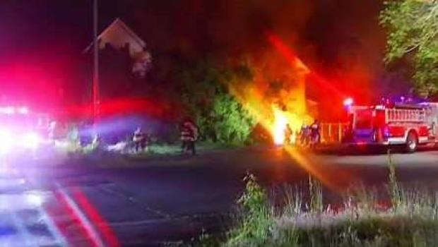 [NECN] Suspected Arson Fires Under Investigation in Taunton