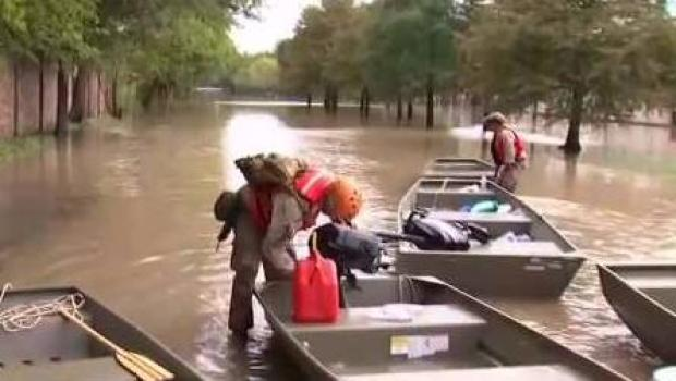 Clean Up Continues as Harvey Moves East