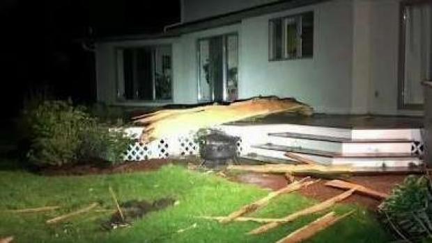 [NECN] Lightning Strike Damages House in Westborough