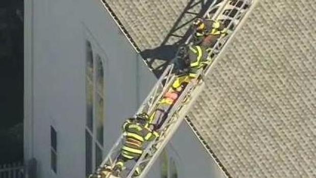 [NECN] Woman Injured in Fall From Church Steeple