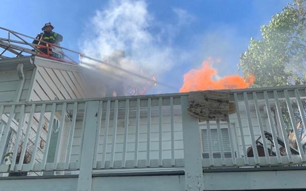 Massive Fire Damages Multiple Buildings in Dorchester