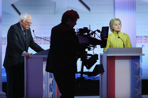 [NECN] Clinton, Sanders Seek Vt., Mass. Wins on Super Tuesday