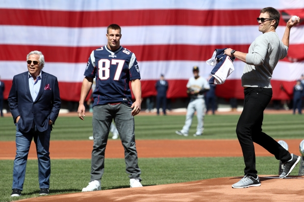 Sights of Red Sox Opening Day 2017