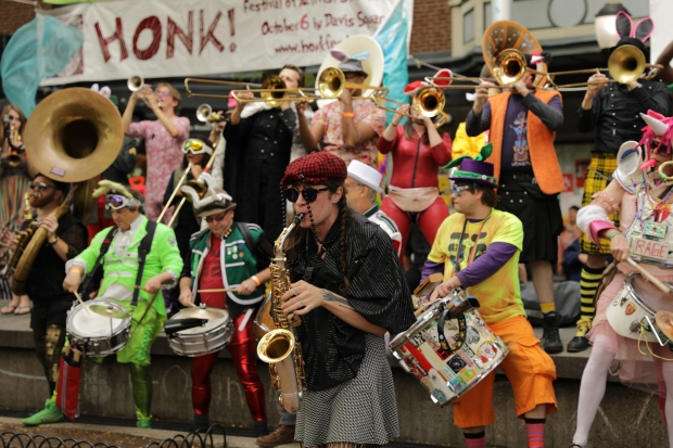 PHOTOS: Honk! Let's Activist Street Bands Make Some Noise
