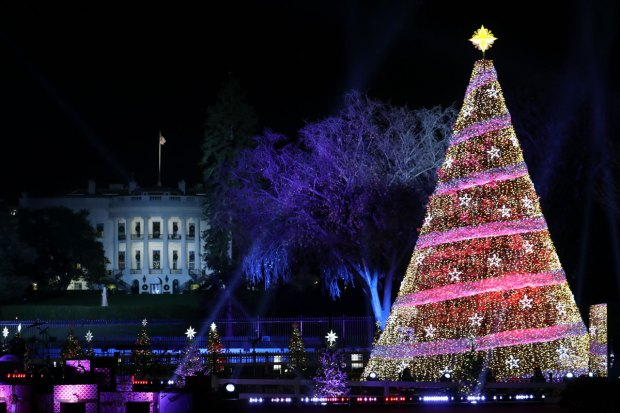 [NATL] PHOTOS: National Christmas Tree Lightings Through the Years