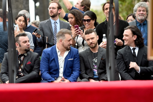 [NATL-LA] NSYNC Still Tearin' Up Hearts, Gets Star on Walk of Fame