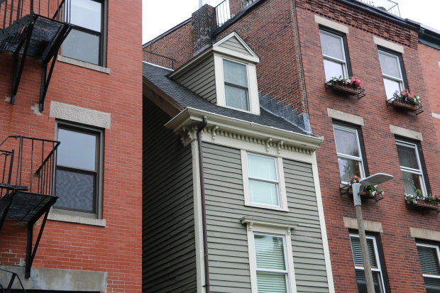 "Inside Boston's Skinny ""Spite House"""