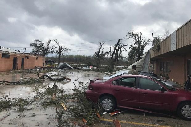 New Orleans East Tornado