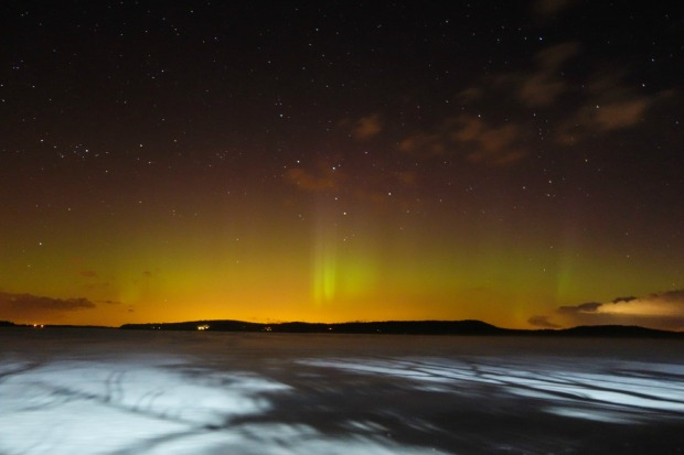 GALLERY: Northern Lights Show in Vermont