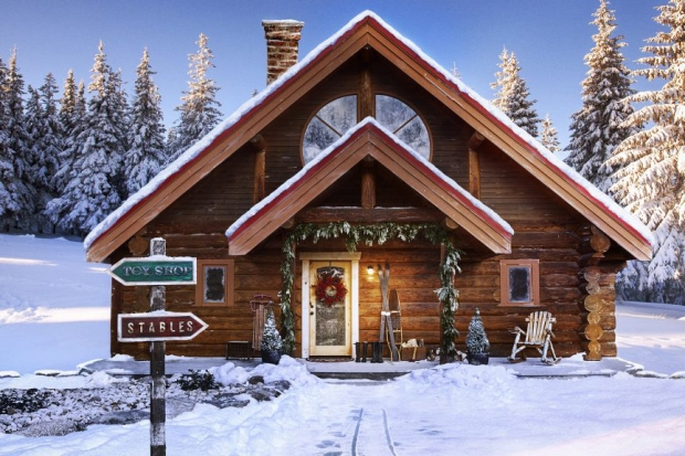 [NATL] In Photos: A Tour of Santa's House on Zillow