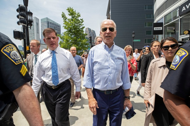 Biden Visits Boston