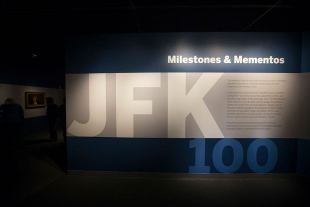 JFK Library in Boston Honors Former President on His 100th Birthday