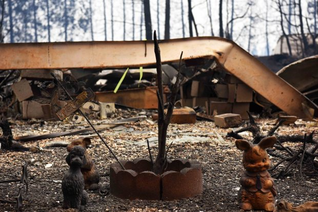 Video: Camp Fire Leaves Paradise, California in Ruins