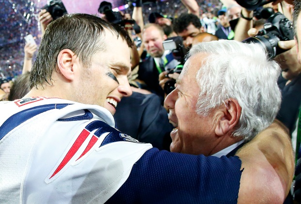 Kraft Discusses His Relationship With Tom Brady