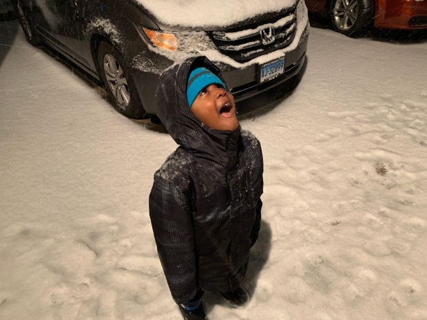 VIEWER PHOTOS: How New England's First Snowfall Looks