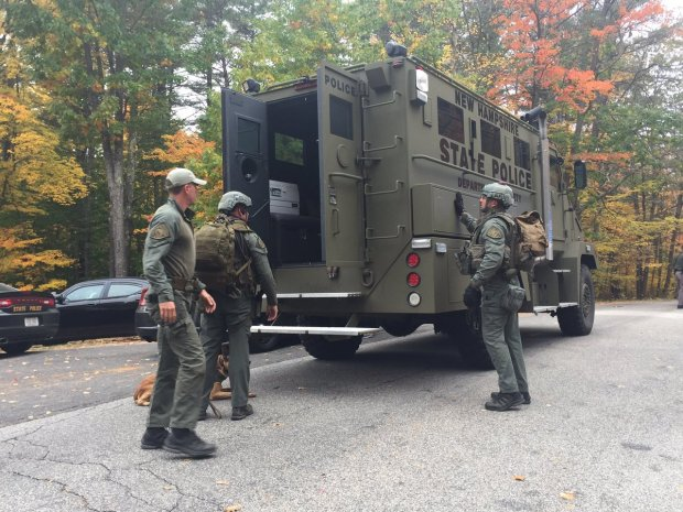 Major Police Activity in Candia, New Hampshire